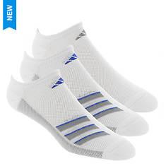 adidas Climacool Superlite 3-Pk No Show Socks (Men's)