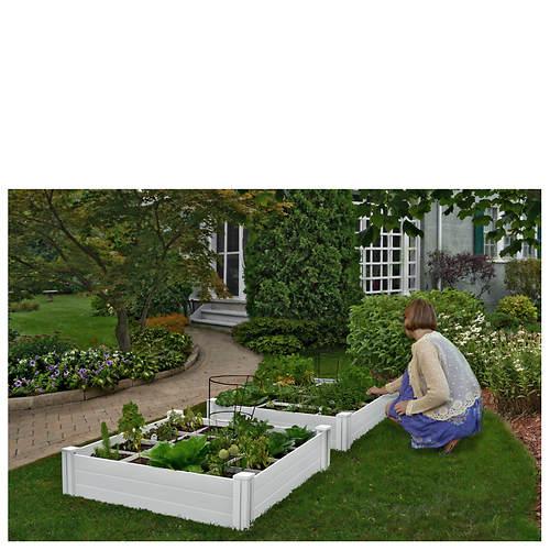 4 X4 Raised Garden Bed Stoneberry