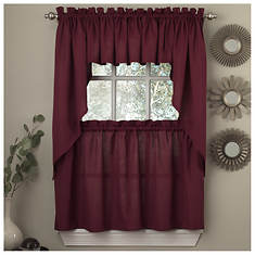 Tailored Cafe Valance