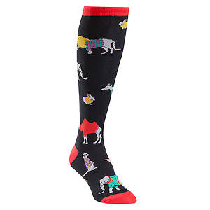 Sock It To Me Sweater Safari Knee High Socks