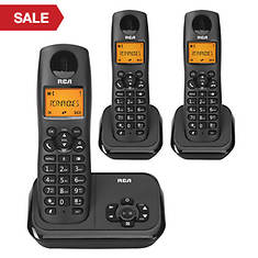 RCA Cordless Answering System & 2 Handsets