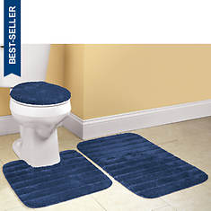 Ultra-Soft 3-Piece Bath Rug Set