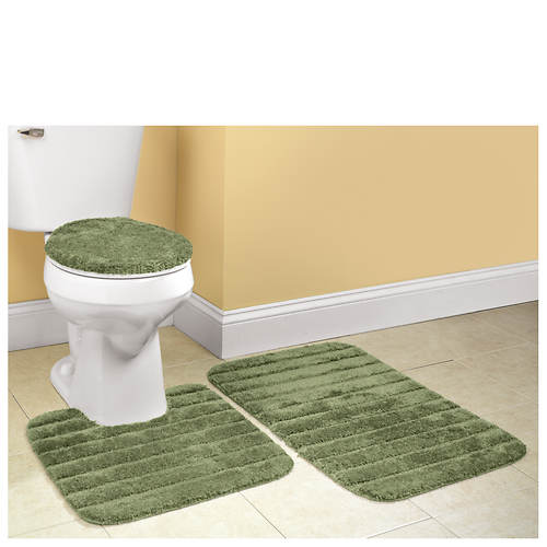 3-Piece Bath Rug Set