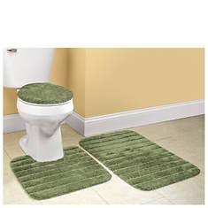 3-Piece Bath Rug Set