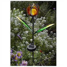 Solar Tulip Garden Stake