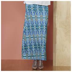 Paisley Printed Maxi Dress