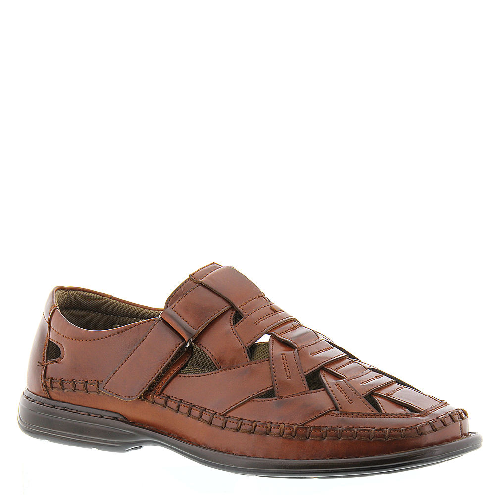 219e13067bed Stacy Adams Biscayne Fisherman Sandal Mens Sandals Mens Cognac 12 M ...