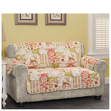 Patchwork Loveseat Protector