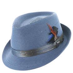 Stacy Adams Straw Fedora Hat