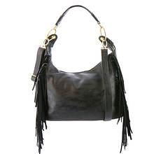 Gloria Fringe Hobo Bag