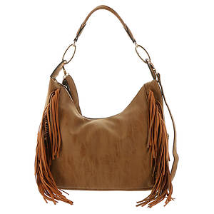 Gloria Fringe Hobo Bag