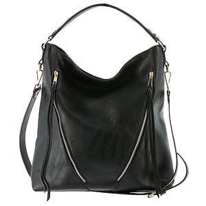 Annabelle Vinyl Hobo Bag