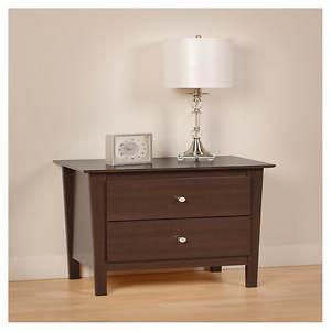 Berkshire 2-Drawer Nightstand