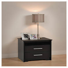 Coal Harbor 2-Drawer Tall Nightstand
