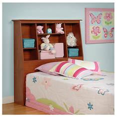 Twin tall Slant-Back Bookcase Headboard