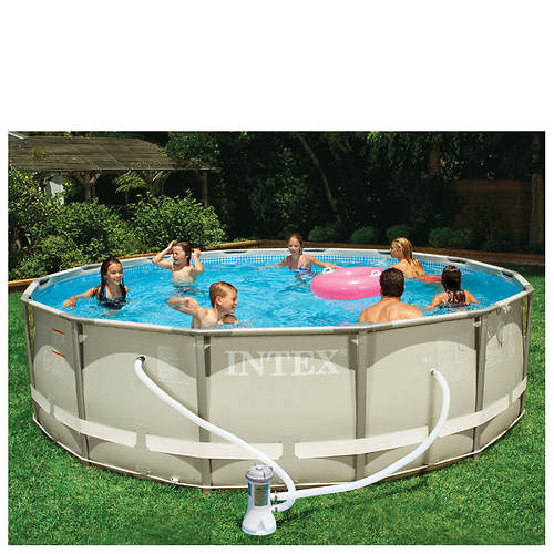 Intex 14 39 X 42 Ultra Frame Pool Set Color Out Of Stock Stoneberry