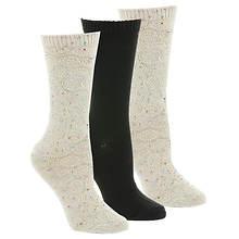 Steve Madden SM32270 3 PK Boot Socks