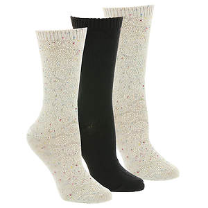 Steve Madden SM32270 3 PK Boot Socks