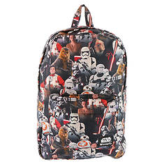 Loungefly Star Wars The Force Awakens Multi Character Back Pack (Boys')