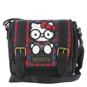 Loungefly Hello Kitty Plaid Crossbody Bag