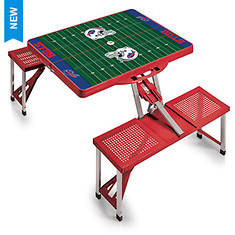 NFL Foldable Picnic Table - Opened Item