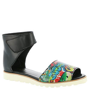 ALL BLACK OT Graffiti Wrap Sandal (Women's)