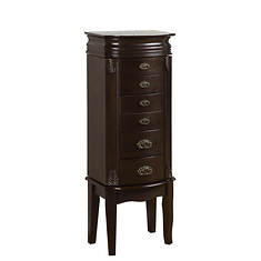 Italian-Influenced Transitional Jewelry Armoire