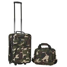 Rockland Fashion 2-Piece Luggage Set