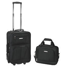Rockland Fashion 2-Piece Luggage Set
