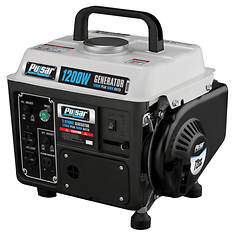 Pulsar 1200-Watt 2-Cycle Gas Generator