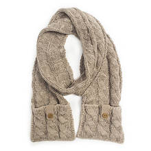 MUK LUKS Sweater Weather Cable Scarf