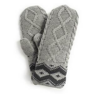 MUK LUKS Sweater Weather Marl Mittens (Women's)