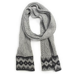 MUK LUKS Sweater Weather Marl Scarf (Women's)