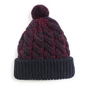 MUK LUKS Sweater Weather Cable Cuff Cap (Women's)