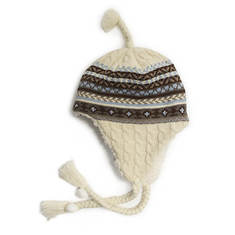 MUK LUKS Sleigh Ride Cable Helmet (Women's)