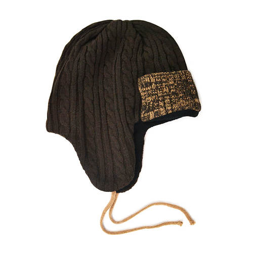 MUK LUKS Cable Trapper Hat (Men's)
