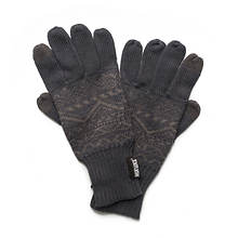 MUK LUKS Pattern Texting Gloves (Men's)