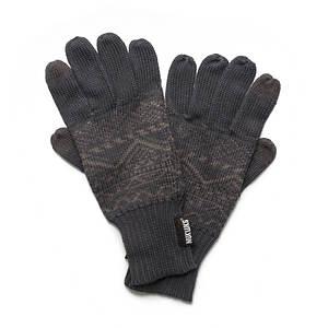 MUK LUKS Pattern Texting Gloves (Men's)