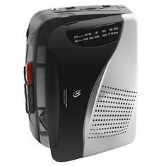 GPX Portable Cassette Player