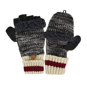 MUK LUKS Sock Flip Mittens (Men's)
