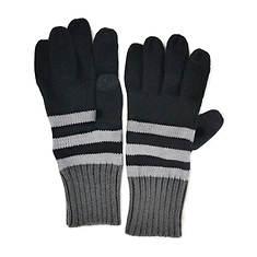 MUK LUKS Stripe Gloves (Men's)