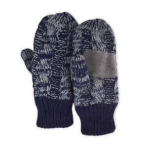 MUK LUKS Cable Mittens (Men's)