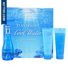 Cool Water by Zino Davidoff 3-Piece Set (Women's)