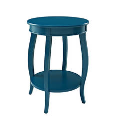 Rainbow Round Accent Table