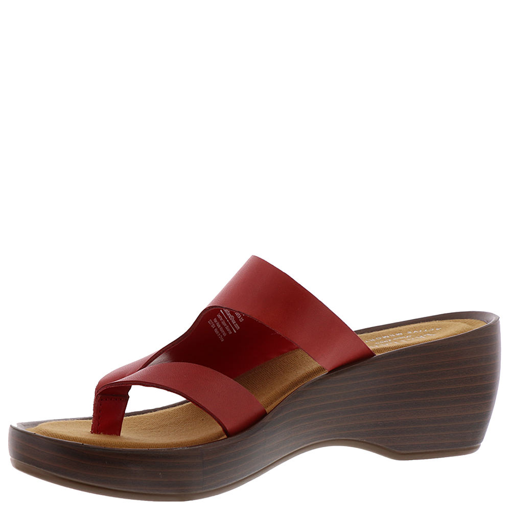 0b92aa8ea3cb Eastland Women s Laurel Sandal Red Size 8.0 D0jh for sale online