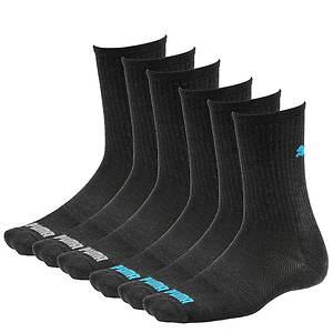 Puma Men's P105772 6-Pack Crew Socks