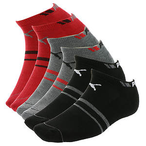 Puma Men's P105775 Low Cut 6 Pack Socks