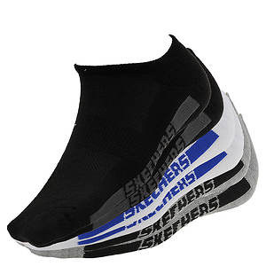 Skechers S106083 No Show Socks 6-Pack (Men's)