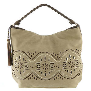 STEVEN Jaide Laser Cut Hobo Bag