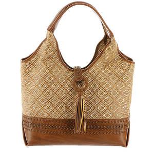 STEVEN Landry Raffia Hobo Bag